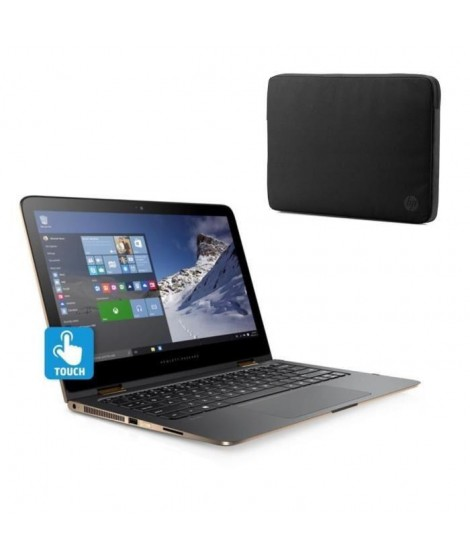 "HP PC Spectre x360 -13-4173nf- 13""- 4Go de RAM - Windows10 -Intel core i5- Intel HD-Disque dur 128 GoSSD + Housse 13"""