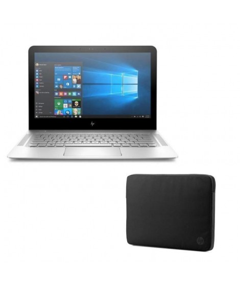 "HP PC PORTABLE ENVY- 13ab000nf- 13.3""- 4 Go de RAM- Windows 10- Intel Core i3-7100U- Intel HD 620- Disque dur 128 Go + Housse…"