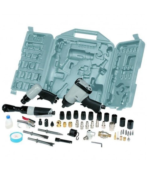 MICHELIN Coffret d'outillage pneumatique 49 pieces pour tout compresseur