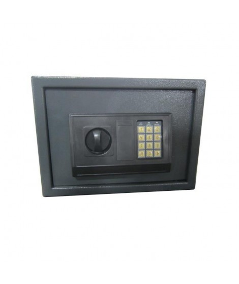 WORKMEN SECURITY Coffre fort électronqiue a code 16L 25x35x25 cm
