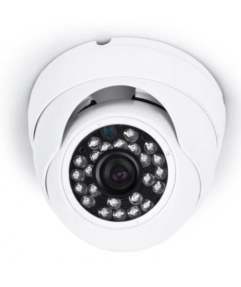SMARTWARES Caméra de surveillance dôme DVR721C HD 720 pixels supplémentaire pour les kits de surveillance DVR724S/DVR728S