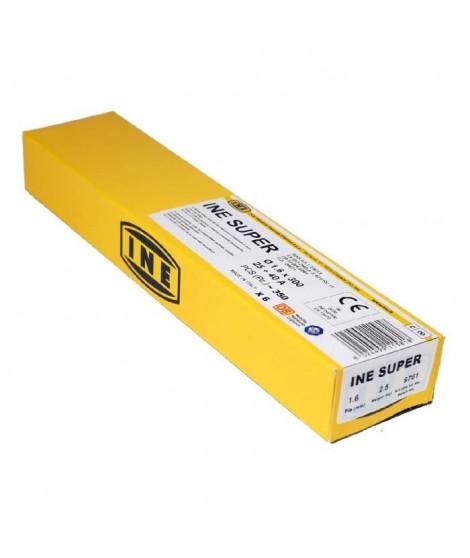 INE Lot de 350 baguettes soudure a l'arc acier 1,6x300mm - électrodes de soudure