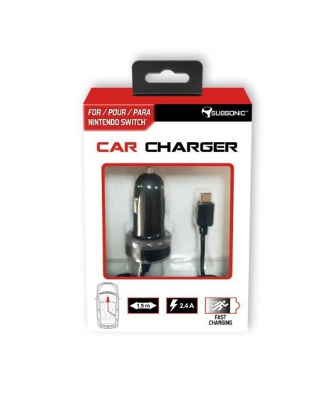 Chargeur voiture pour Switch
