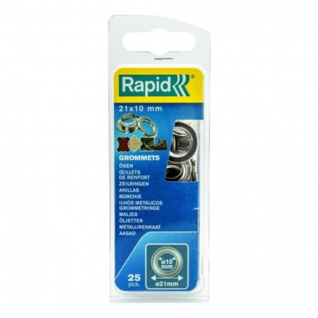 RAPID 25 oeillets de renfort 10mm