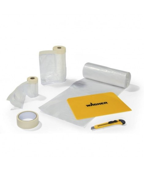 WAGNER Kit de masquage et protection Premium