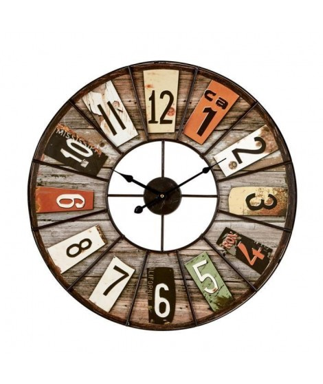 IMAGINE Color Loft Horloge - 60 cm