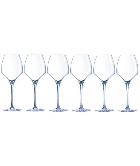 CHEF ET SOMMELIER  Lot de 6 Verres a vin UNIVERSAL OPEN UP 40 cl