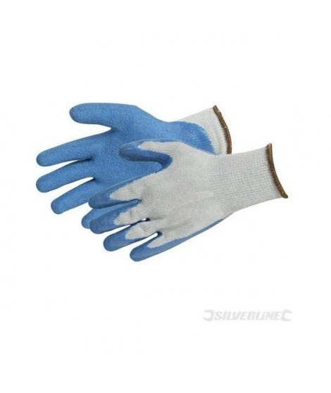 Gants de maçon enduction latex