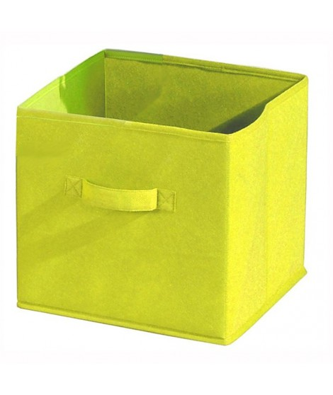 COMPO Tiroir de rangement tissu jaune 27x27x28 cm