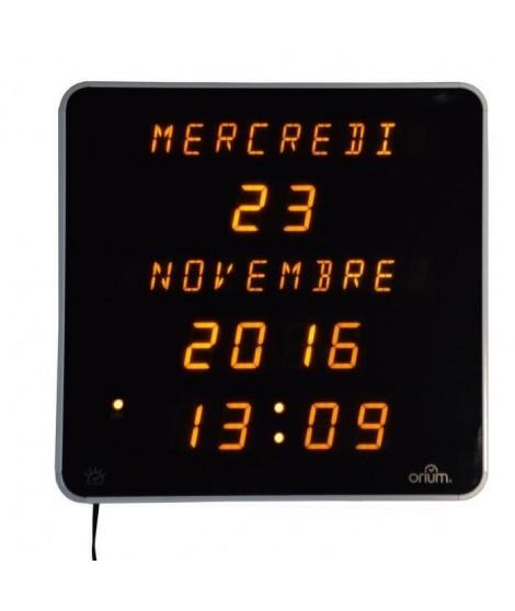 EPHEMERIS Horloge DST Ø28 cm blanc