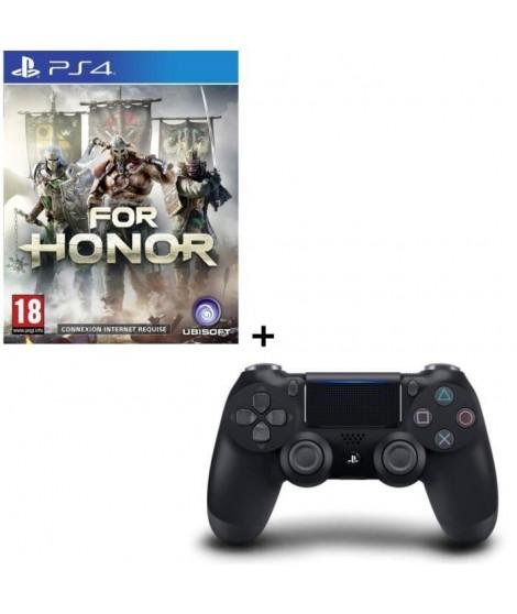 For Honor + Manette DualShock 4 Noire V2