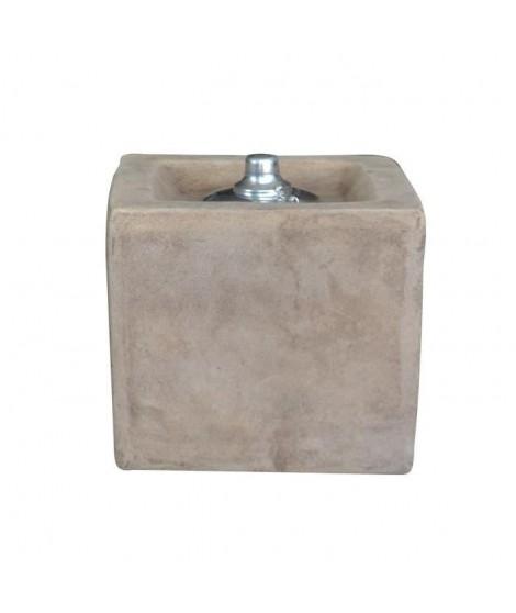 HOMEA Lampe a huile déco 21xH20 cm terracotta