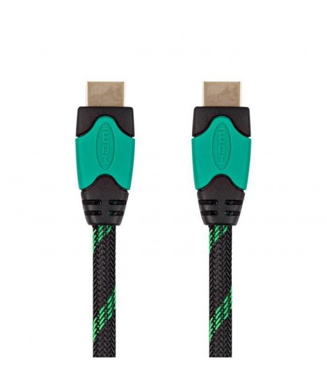 UNDER CONTROL Cable HDMI Xbox One - 4K - 3M - Vert / Noir