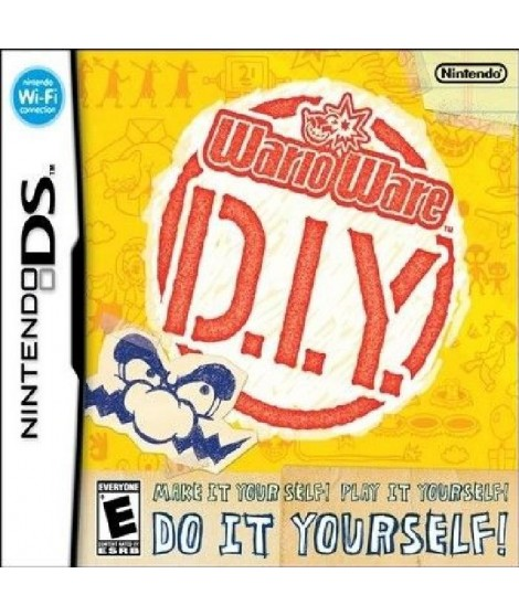 Wario Ware Do It Yourself / Jeu console DS