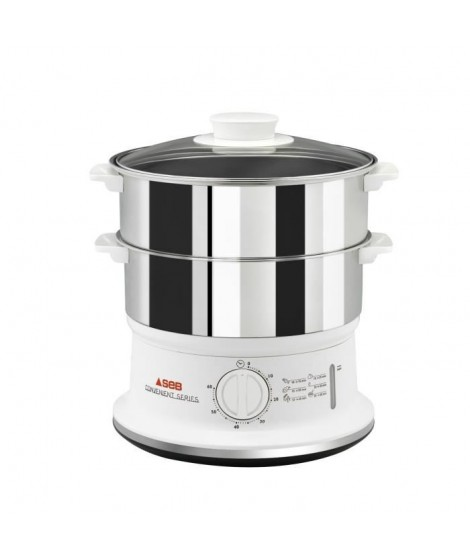 SEB - Cuiseur vapeur convenient inox 2 bols - VC145100