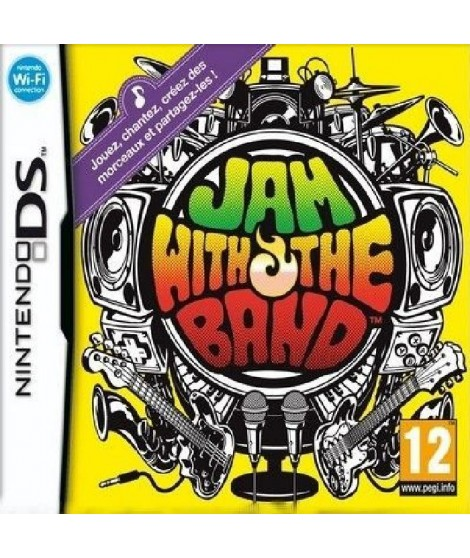 JAM WITH THE BAND / Jeu console DS