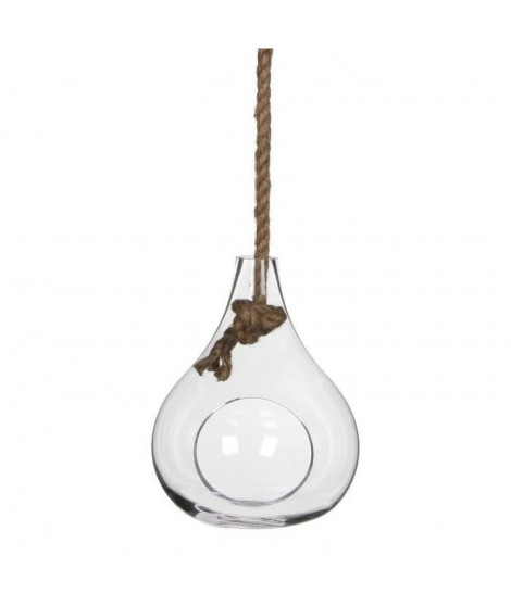 Sil Vase suspendu - Transparent - H25xD20cm