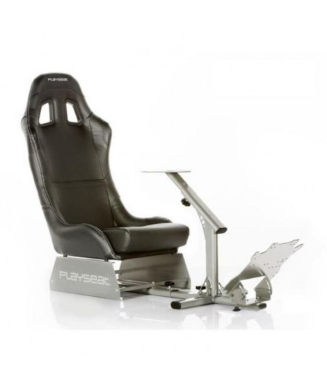 PLAYSEAT Siege simulation automobile EVOLUTION - Simili-cuir - Noir