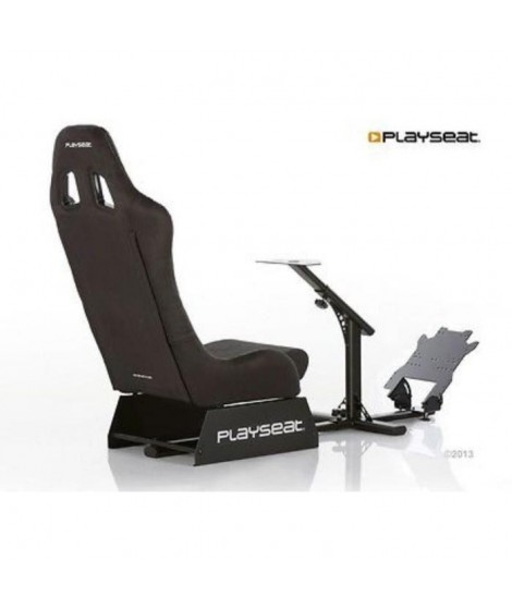 PLAYSEAT Siege simulation automobile EVOLUTION - Alcantara - Noir