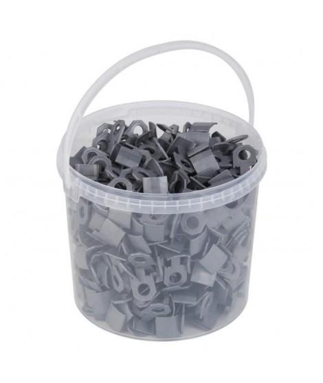 MEISTER Clips pour systeme de nivelage de carrelage 400 pieces