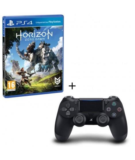 Horizon : Zero Dawn + Manette DualShock 4 Noire