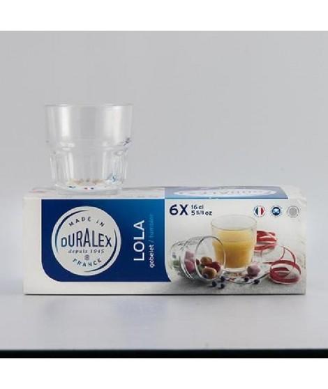 DURALEX Lot de 6 verres Lola - 16 cl