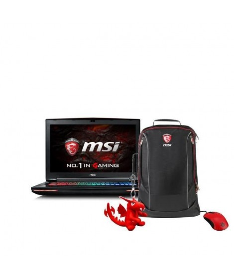 "MSI PC Portable Gamer GT72VR 6RD -247XFR-17""3 -RAM 16Go- Core i7 6700HQ-GTX 1060 - Stockage 1To + 128 Go SSD + Pack Gaming"