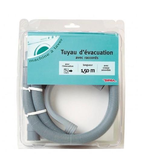 DIPRA Tuyau évacuation - Diametre 18-1,5m crosse