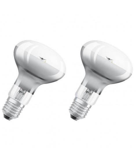 OSRAM Lot de 2 Ampoules Spot LED R80 E27 7 W équivalent a 46 W blanc chaud