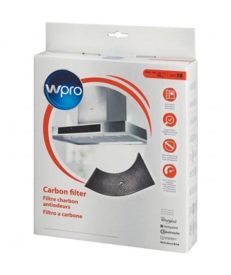 Wpro Filtre de hotte a charbon forme demi-lune - pour hottes Whirlpool AKR400-AKR404-AKR405