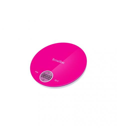 Balance électronique rose Halo Colors, 4 kg - Terraillon
