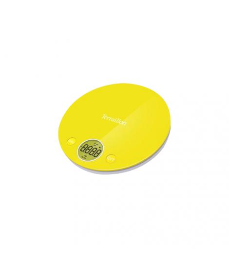 Balance électronique jaune Halo Colors, 4 kg - Terraillon