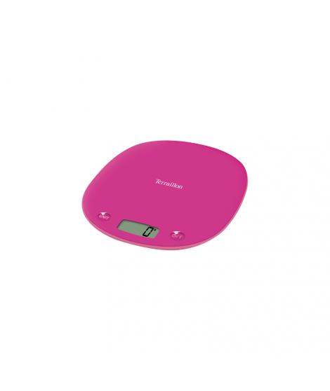 Balance électronique rose Macaron light , 3 kg - Terraillon