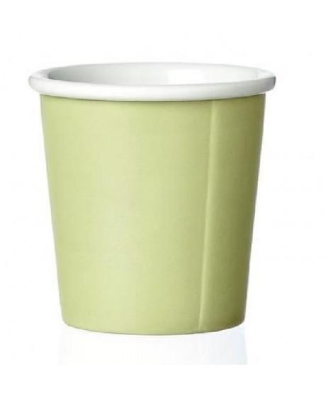 VIVA SCANDINAVIA Tasse a Expresso Anna Spring - Porcelaine - 8 cl - Vert pomme