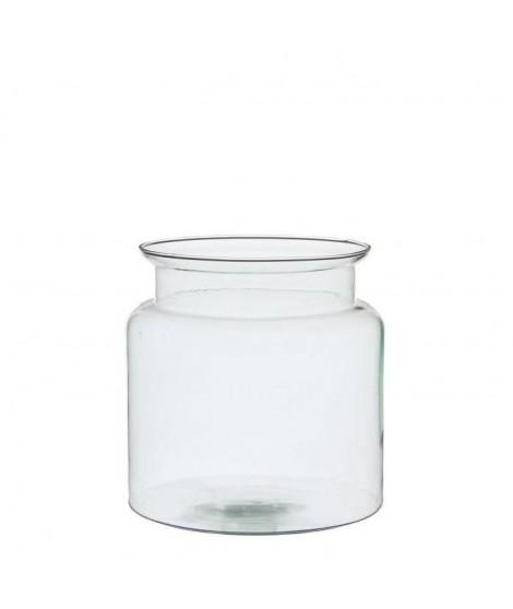 EDELMAN Mathew Vase verre transparent - Verre - H23 x D23 cm
