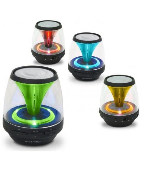 MET 477072 Enceinte lumineuse Bluetooth Spark