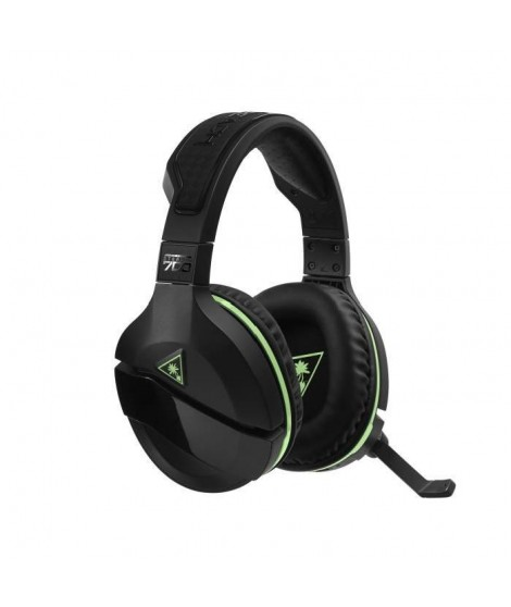 TURTLE BEACH Casque gamer Stealth 700 - Sans fil - DTS Suround - Superhuman hearing? - Noir et vert - XBOX ONE