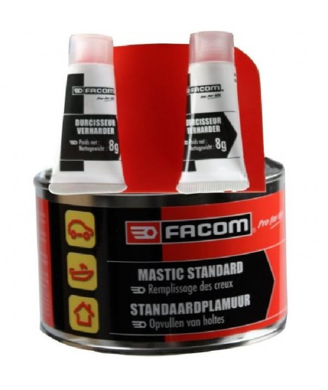 FACOM Mastic polyester standard - Remplissage nivellement - 500 g