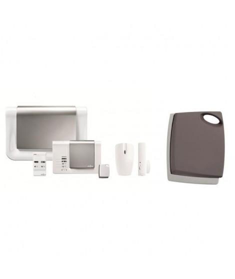 DIAGRAL Pack alarme pour appartement sans fil compatible animaux One DIAG16BSF