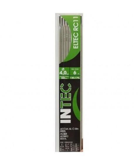 INE Lot de 6 électrodes acier rutile Ø4 mm