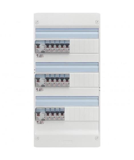 LEGRAND Tableau électrique équipé précâblé Evolué spécial pour logement T4