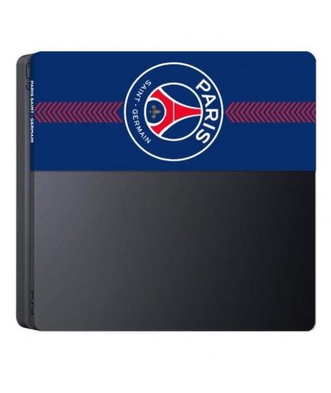 SA5441-7 Façade de personnalisation - Faceplate de custPSGisation pour Playstation 4 Slim PS4 Slim - PSG Paris Saint Germain
