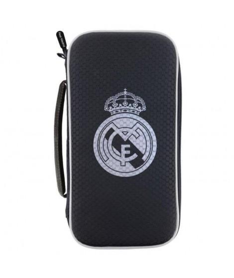 SA5442-13 Housse - Malette de rangement XL rigide et anti-choc - Nintendo Switch console et accessoires - Real Madrid
