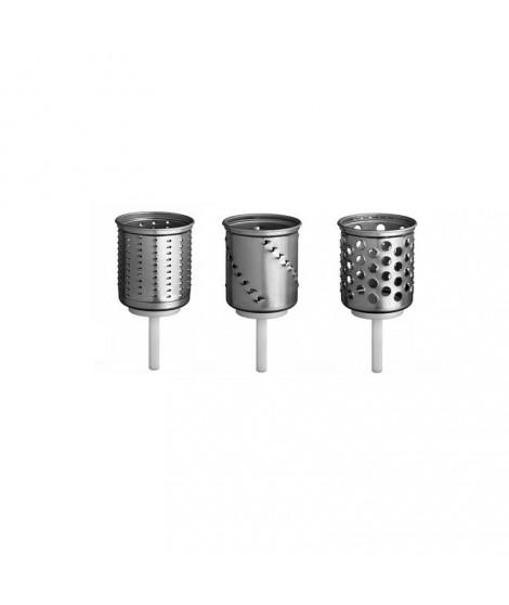 kit de 3 cylindres pour le tranchoir mvsa du robot sur socle artisan kitchenaid