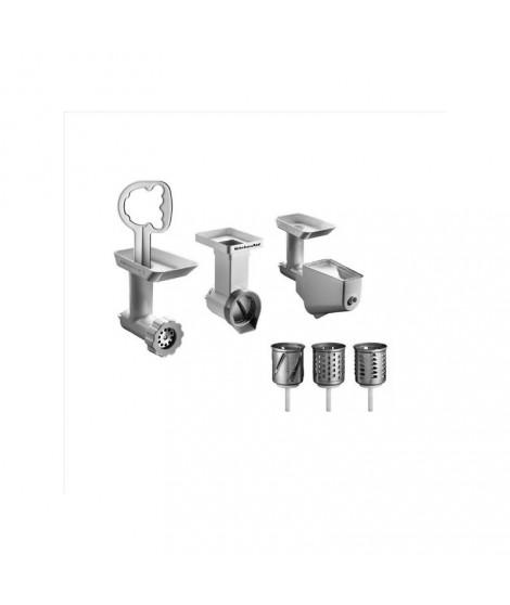 kit de 3 accessoires pour robot sur socle artisan kitchenaid