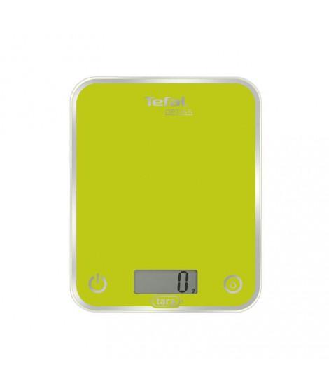 balance de cuisine optiss-electronique-5 kg-déviation 1 gr-conversion liquide-plateau verre-vert