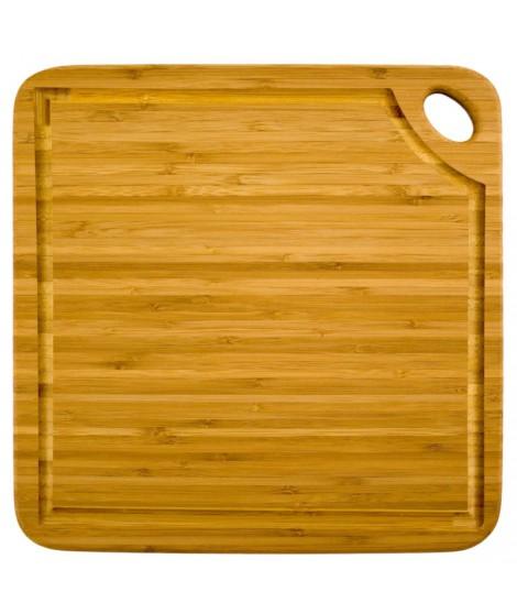Planche carrée Greenlite avec rigole- Totally Bamboo