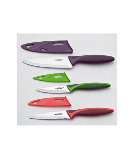Coffret 3 couteaux cuisine Zyliss