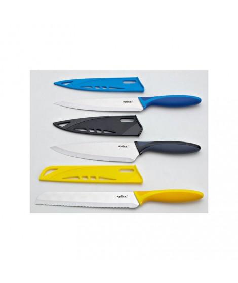 Coffret 3 couteaux de cuisine Zyliss