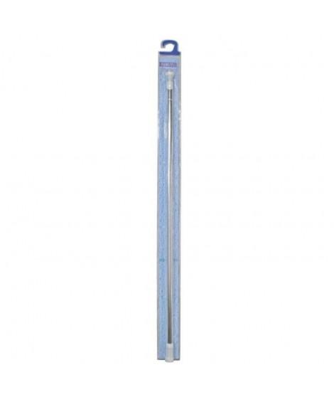 Barre de douche ext 110 a 180 cm alu chromé